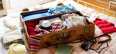 вещи, чемодан