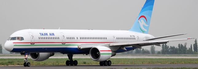 Boeing 757-200 Tajik Air, самолёт