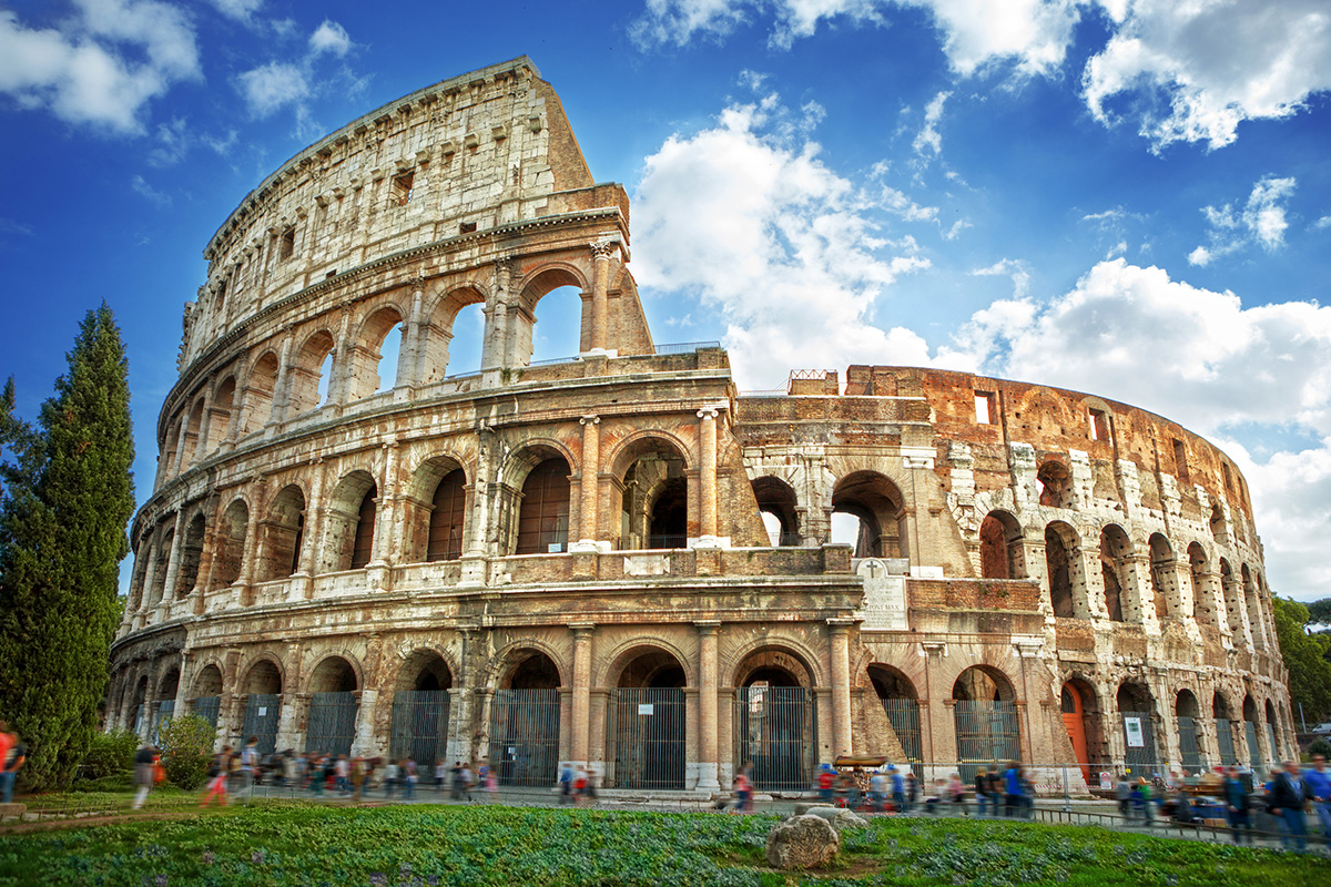 Италия, Colosseum in Rome, Italy