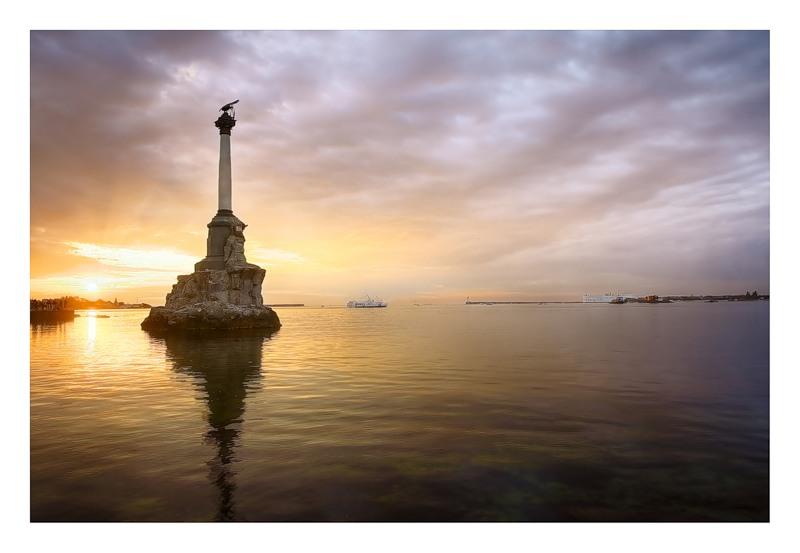 Крым, Севастополь, море