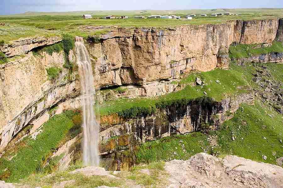 Водопад Тобот, Дагестан